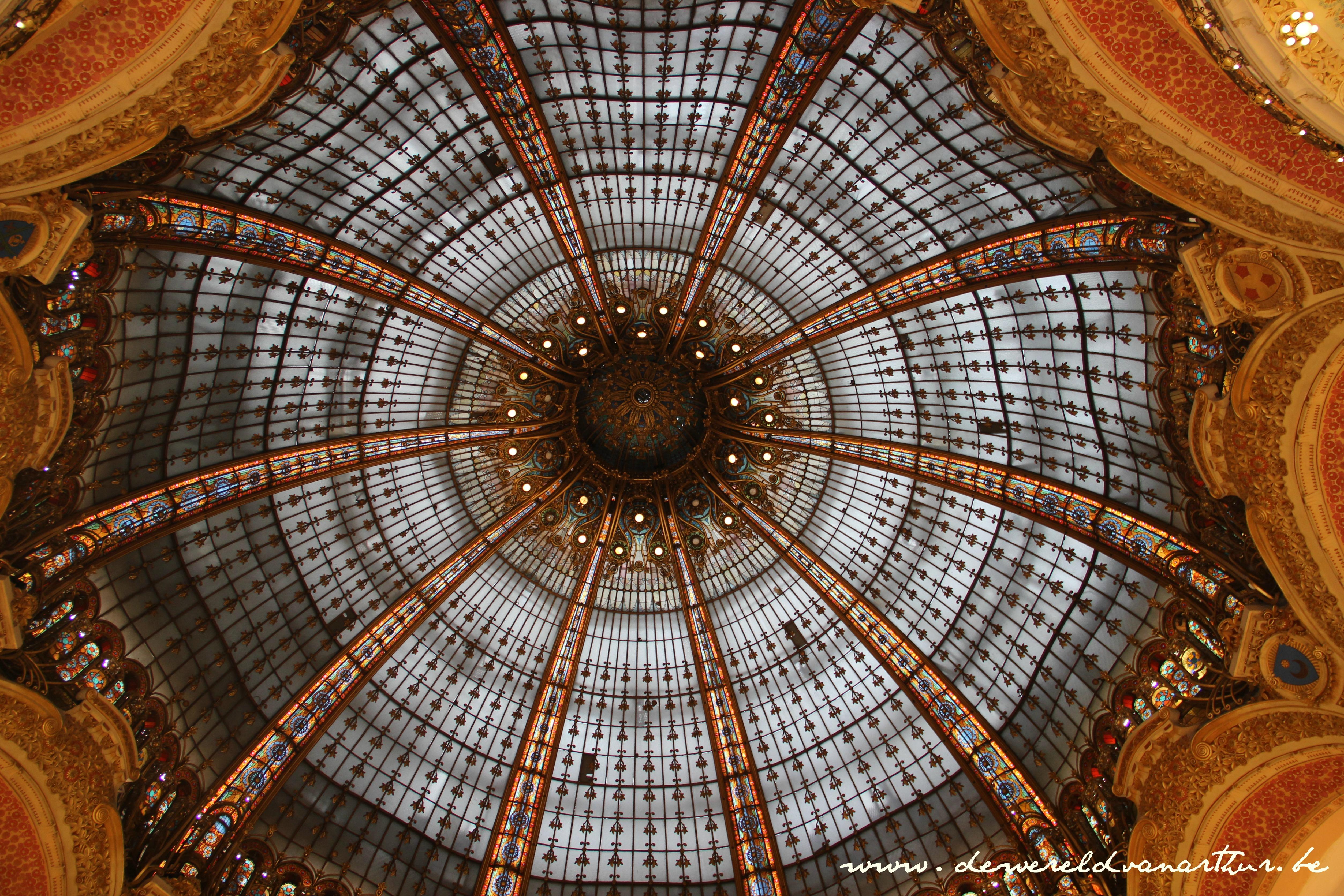 galleries lafayette de wereld van arthur